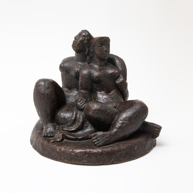 , 'Noon,' from 1935-6 terracotta study for Noon cast in an edition of 10 with the permission of the Dobson Estate in 2019, Sylvester Fine Art