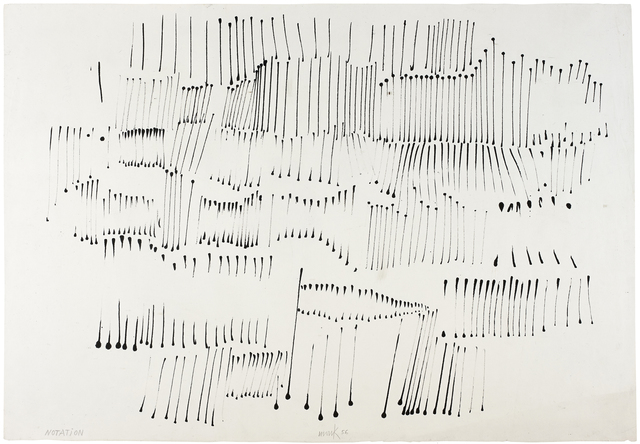 , 'Notation,' 1956, Beck & Eggeling