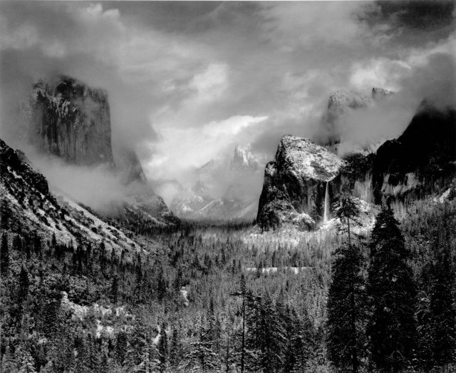 Ansel Adams, 'Clearing Winter Storm, Yosemite National Park, CA', 1944 (Printed 1970's), Peter Fetterman Gallery
