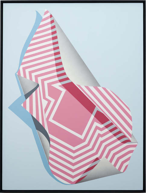 Tavar Zawacki aka ABOVE, 'Metamorphosis #2 (Raspberry)', 2018, Die Kunstagentin