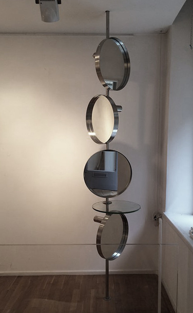 , 'Mirror column with spot lights,' 1968, Demisch Danant