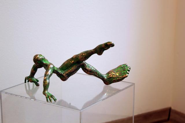 , 'Der Akrobat,' 2015, Galerie Klose