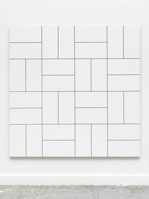 , 'Morellet / Glass 32 Felder,' 2017, Casado Santapau