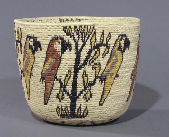 Panama Rainforest Basket Makers, 'Parrot Basket', Glenn Green Galleries