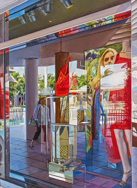 Tom Blackwell, 'Linda at Waterside Shops, Naples, FLA.', 2013, Painting, Oil on canvas, Van Ham