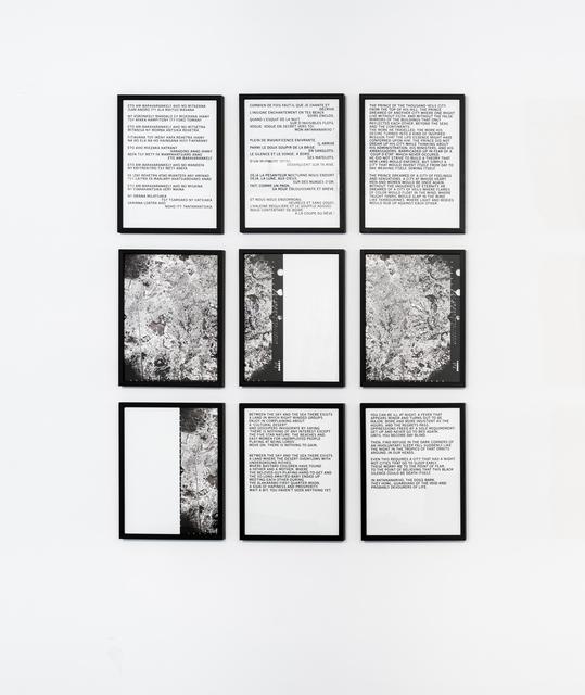 , 'History/Stories,' 2016, Sabrina Amrani