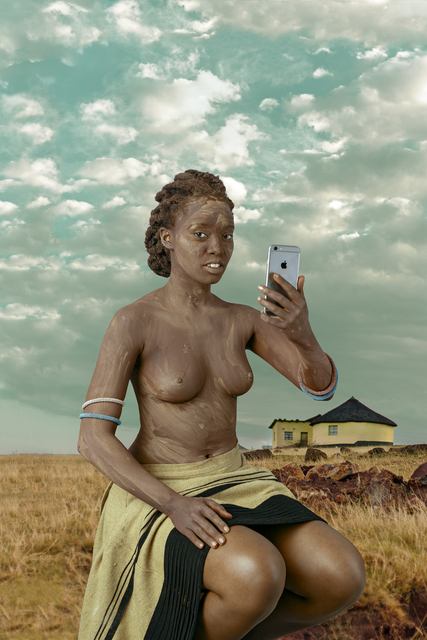 , 'Xhosa woman - Intombi I,' 2017, Christopher Moller Gallery