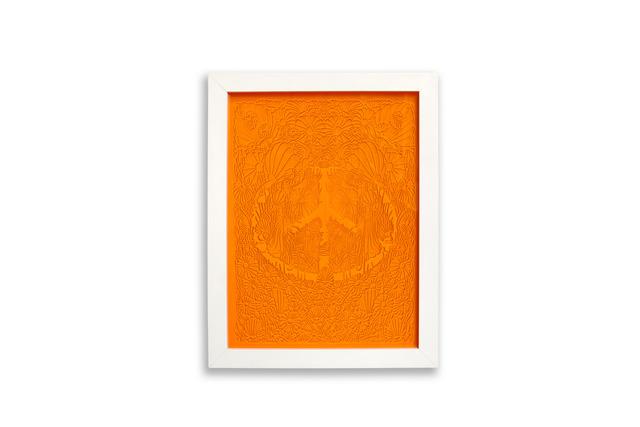 , 'Flowering Peace (Dark Orange),' 2017, Garis & Hahn