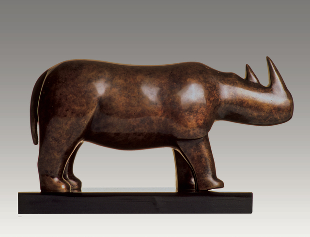 , 'Rhino,' , Robert Hooke Sculpture Gallery