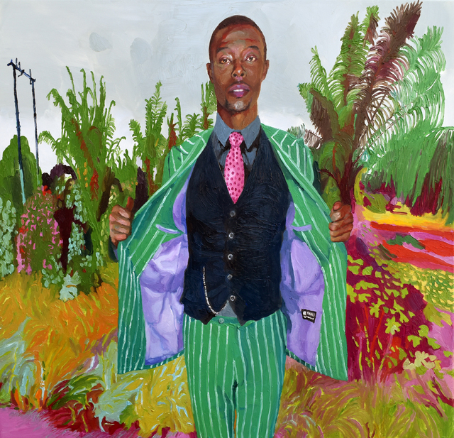 , 'Dandy Green Suit,' 2018, Yiri Arts
