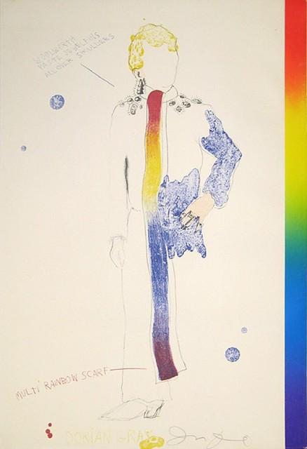 Jim Dine, 'Dorian Gray, Rainbow', 1968, Kunzt Gallery