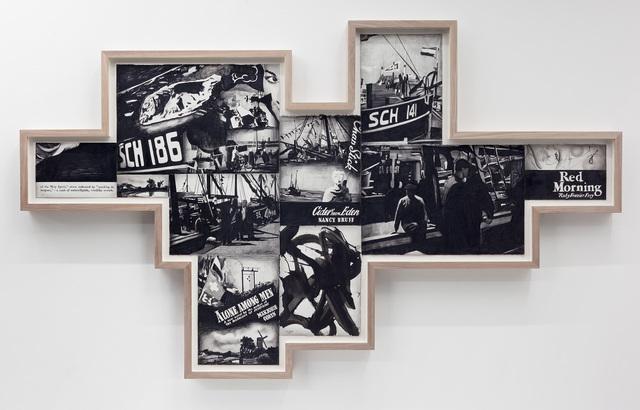 Marcel van Eeden, 'May 17. 1948 (2)', 2013, Drawing, Collage or other Work on Paper, Nero pencil, gouache, oil crayon on paper, Galerie Bob van Orsouw
