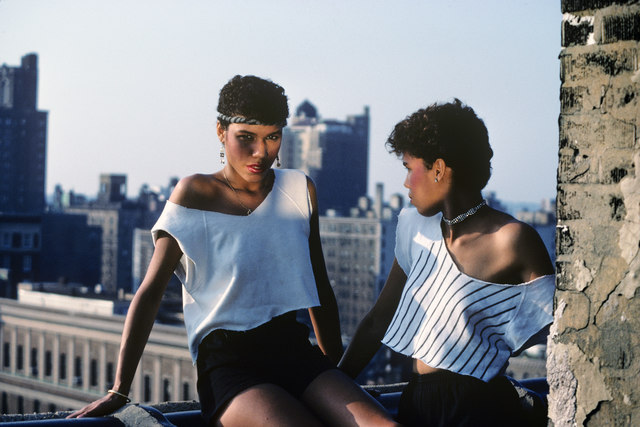 , 'The Lopez Sisters on the Roof, Spanish,' 1981, CHRISTOPHE GUYE GALERIE