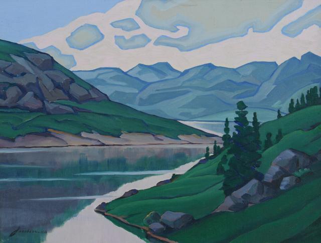 , 'Green Mountain,' 1936, JRB Art at The Elms