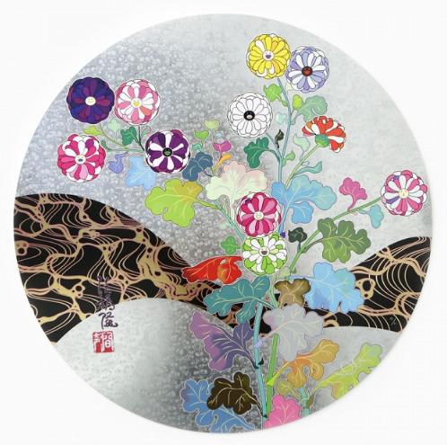 Takashi Murakami, 'Korin: Flowers', 2016, Vogtle Contemporary