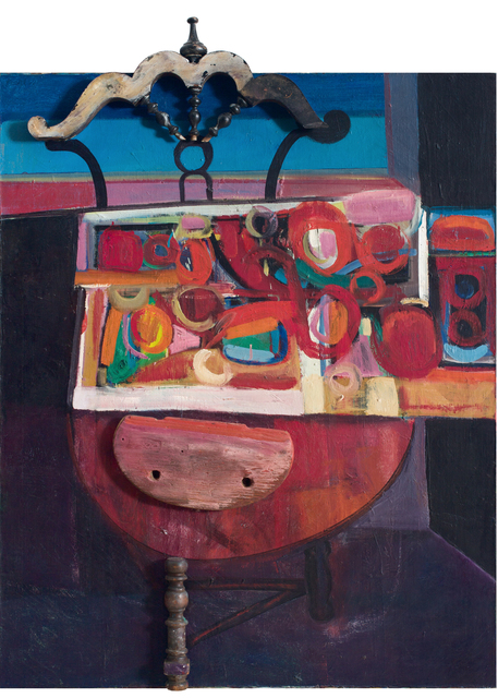 , 'Gate Leg Table,' 1966, DC Moore Gallery