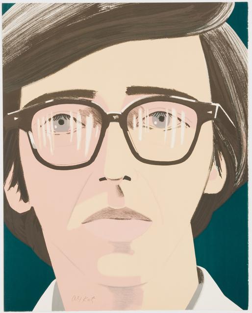 Alex Katz, 'Portrait of a Poet: Kenneth Koch', 1970, Brooke Alexander, Inc.