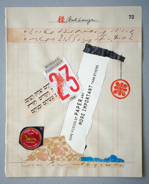 , 'February 23,' , Marie Baldwin Gallery