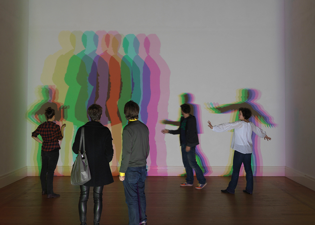, 'Your uncertain shadow (color),' 2010, Belvedere Museum