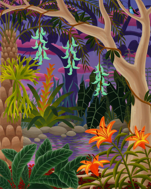 , 'Jungle with Jade Vine,' 2016, Morgan Lehman Gallery