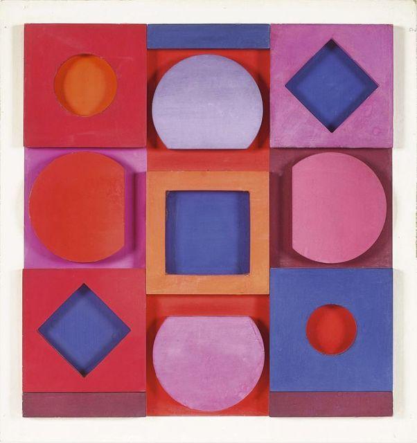 "Victor Vasarely, '""Granat"" négatif ', 1967, Le Coin des Arts"