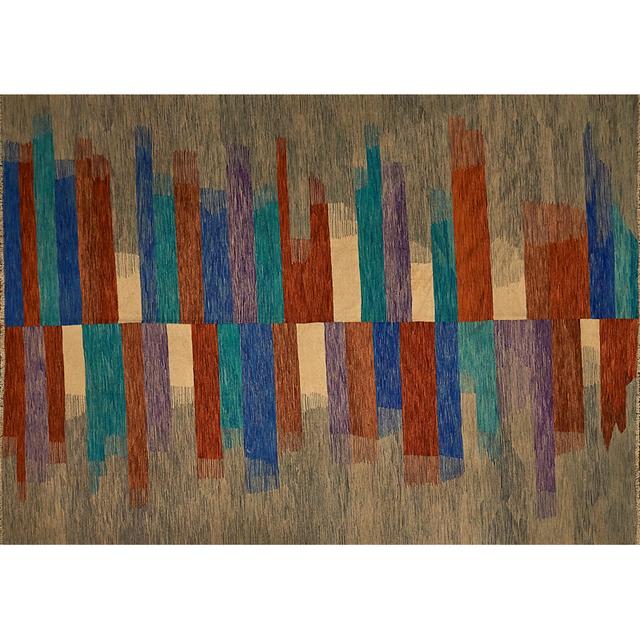 'Contemporary Flatweave Rug', Rago