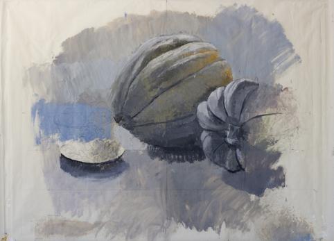 """, '""""Calabazas y pepitas de calabaza"""",' 2017, Sala Parés"""