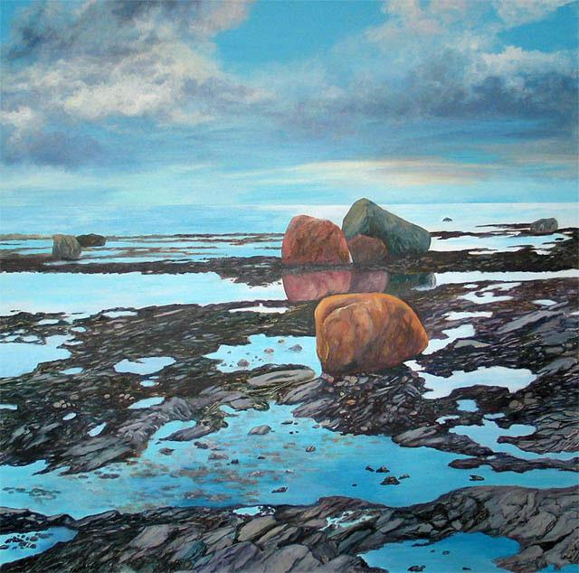 , 'Sky, Stone, and Sea,' 2016, Fusion Art