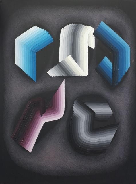 , 'circuitous #4,' 2014, Moskowitz Bayse