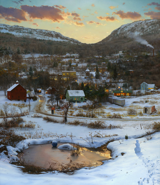 , 'Valley in Winter,' 2014, Quidley & Company