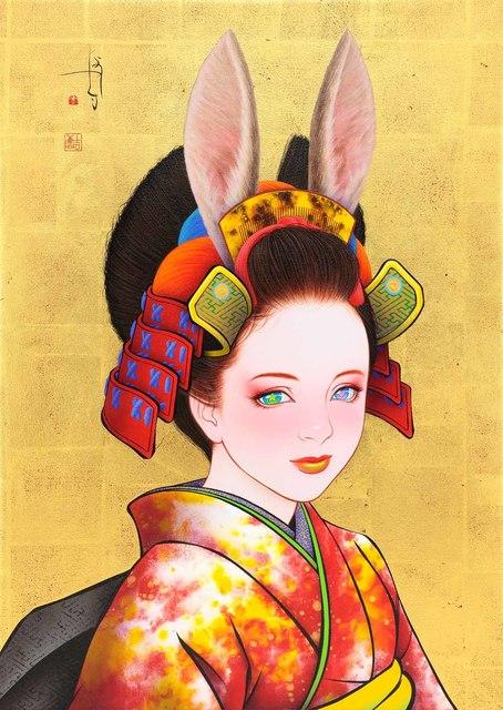 , 'Samurai Bunny II,' 2017, Gallery G-77