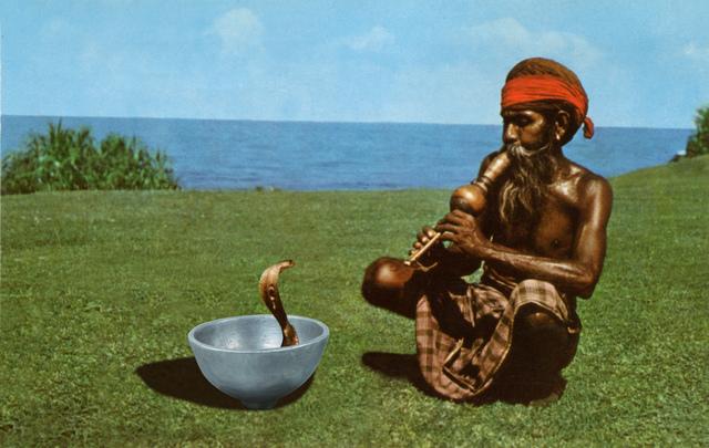 Daniel Rothbart, 'Snake Charmer 1967_2019', 2019, Galerie Depardieu Art Contemporain