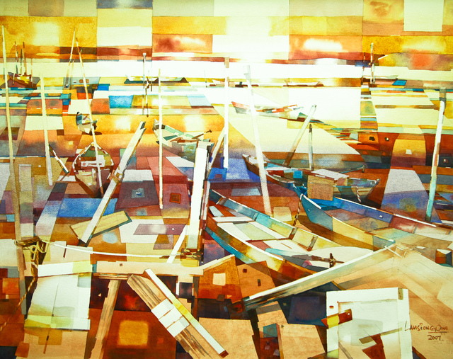 , 'Fishing Boats,' 2007, Affinity ART