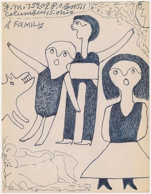 ", '""A family"" ,' n.d, Ricco/Maresca Gallery"