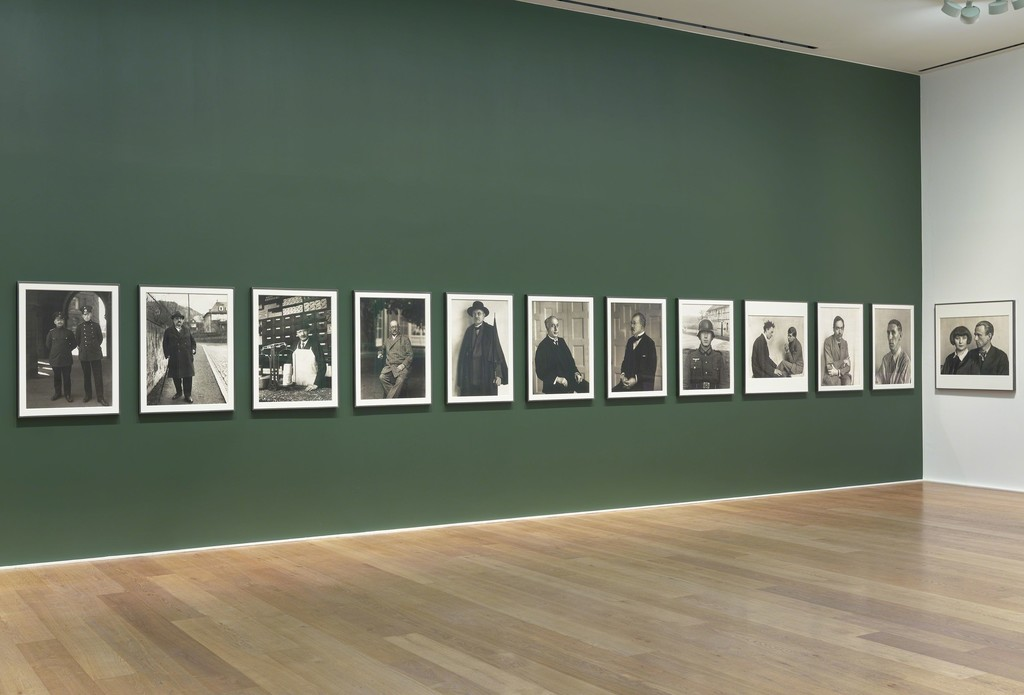 Installation view, 'August Sander. Men Without Masks,' Hauser & Wirth London, 18 May – 28 July 2018
