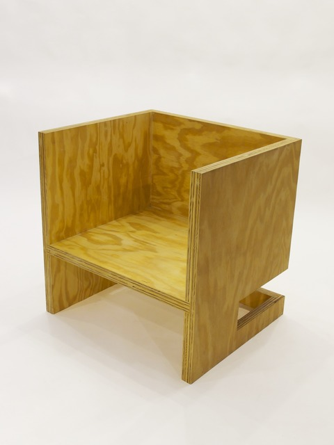 , 'Cube Chair (+ Subtraction Upside-Down),' 2010, Patrick Parrish Gallery