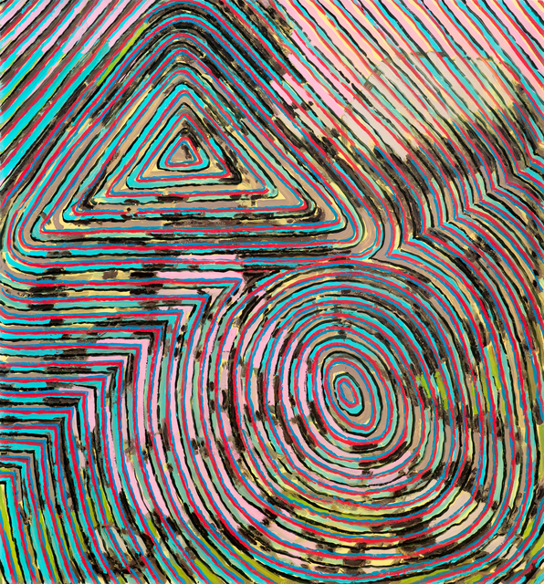 , 'Matrix II,' 2018, Projet Pangée