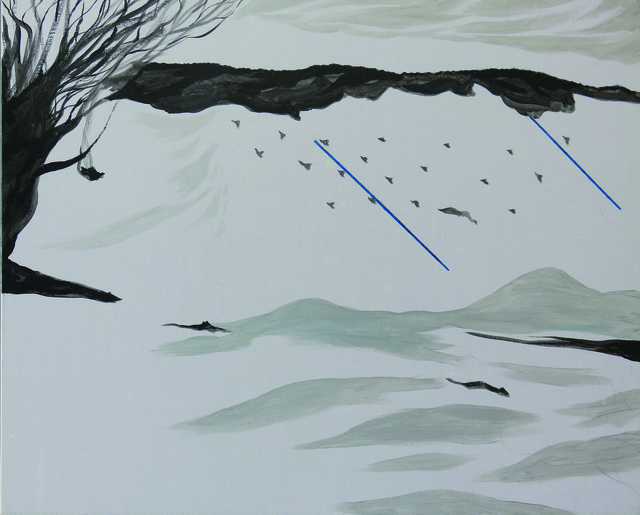 , 'The Herd of Wolves on a Distant Mountain,' ca. 2018, Liang Gallery