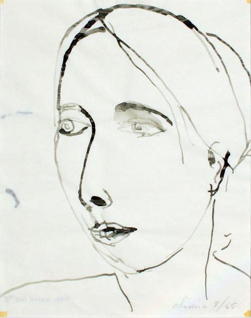 Nathan Joseph Roderick Oliveira, 'Model Sketch #5', 1965, Westbrook Modern