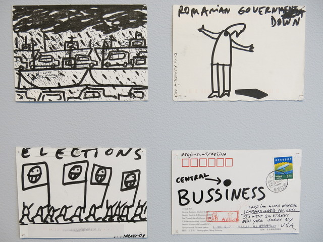, 'Postcards Mailed from the World,' 2009, Jane Lombard Gallery