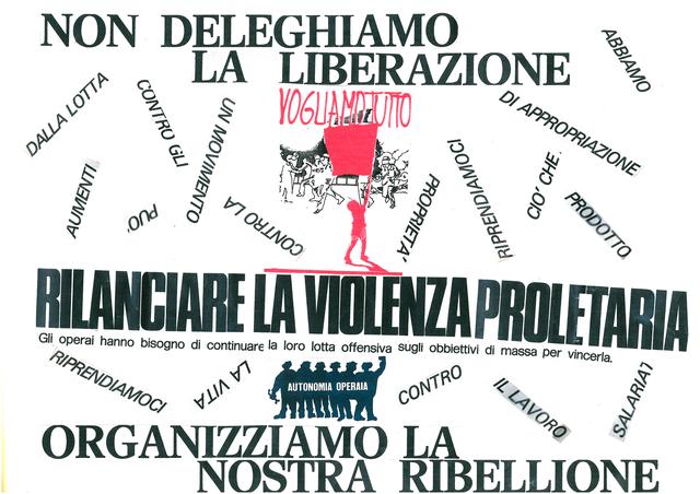 , 'La Violenza Proletaria,' 1975-2017, Galleria Michela Rizzo