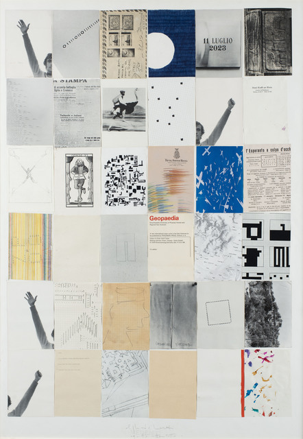 , 'Untitled (Geopaedia),' 1978, Erica Ravenna Fiorentini Arte Contemporanea