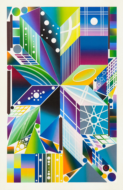 , 'Atomic Mystic Aura 11,' 2017, Durham Press, Inc.