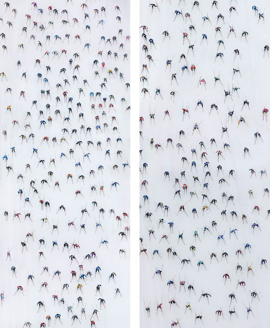 , 'Engadin Skimarathon, Switzerland (diptyque/diptych),' 2007, Opiom Gallery