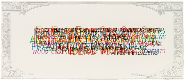 , 'How To Make A Good Print,' 1996, McEvoy Foundation for the Arts
