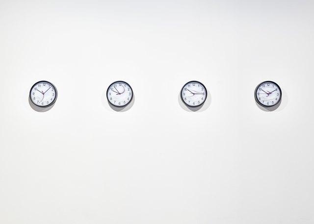 , 'Jacco Jansen - 4 Clocks,' 2017, Galerie Ron Mandos