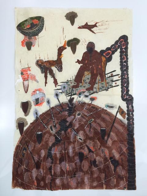 Omar Ba, 'Write on the walls - War', 2015, Wilde | Geneva, Switzerland