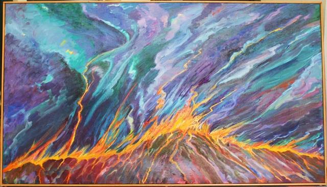 , 'Fire Mountain,' 1999, Alpha 137 Gallery