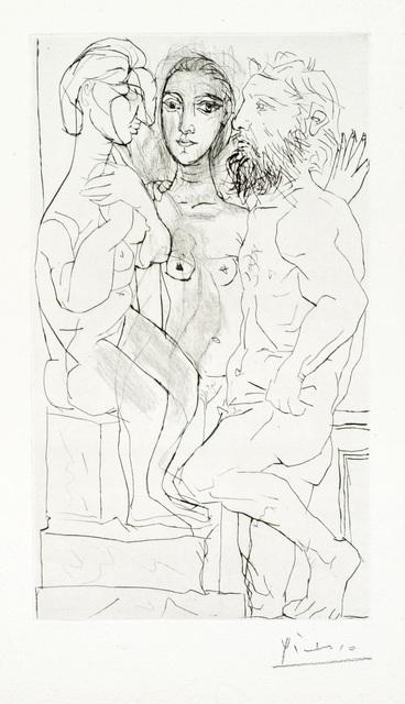 Pablo Picasso, 'Sculpteur, Modele et Sculpture: Femme Assise', 1933, Christopher-Clark Fine Art