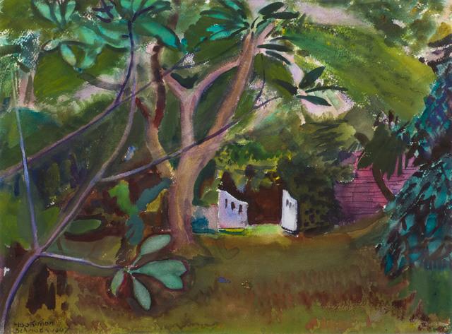 Charles Hopkinson, 'White Gate, Bermuda', 1947, Vose Galleries